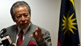 Malaysia's Foreign Affairs Minister Anifah Aman