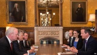 Downing Street talks