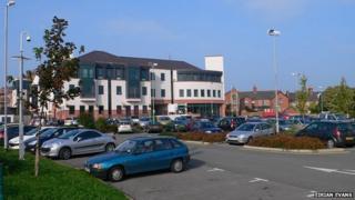 Denbighshire council headquarters