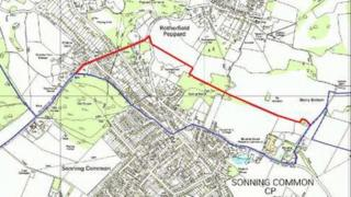 Map showing boundary extension proposal