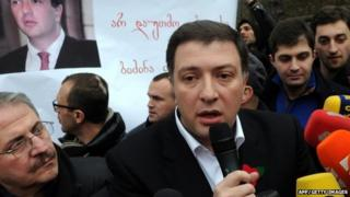 Gigi Ugalava facing questions as mayor of Tbilisi on 23 February 2013