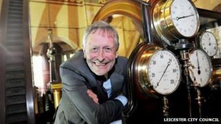 Sir Peter Soulsby at the science museum