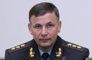 Valeriy Heletey in Kiev, 3 July