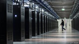 Facebook Data Centre in Lulea, Swedish Lapland. 12 June 2013