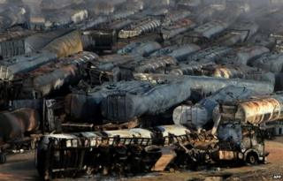 Taliban launch rocket attack on Kabul oil tankers