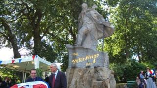 Victor Hugo statue