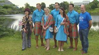 Team Scotland parade uniform