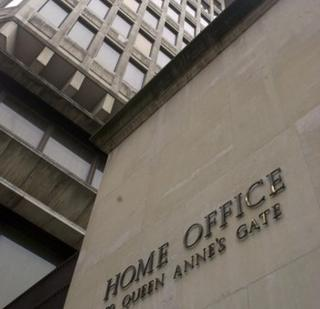 Exterior of Home Office building in the 1980s