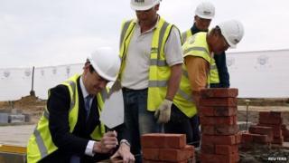 George Osborne at Ebbsfleet site