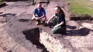 Archaeologists in Blackpool