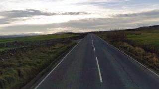 Minor road in North Yorkshire