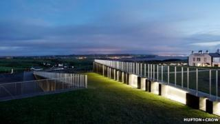 The Giant's Causeway Visitor Centre was among the beneficiaries of National Lottery money