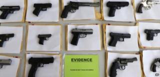 Impounded guns