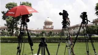 "Media have closely covered the Supreme Court's ""fatwa"" case"