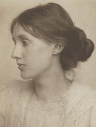 Virginia Woolf by George Beresford