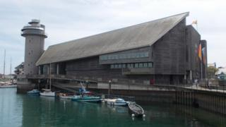 National Maritime Museum Cornwall. Pic: Andrew Segal