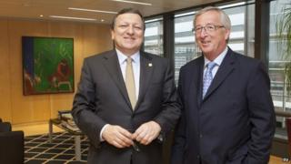 Juncker and Barroso