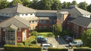 High view of Wotton Lawn Hospital