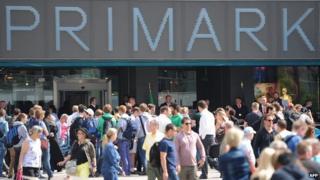 Primark store in Berlin
