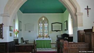 St Mary's the Virgin Church in Alton Barnes
