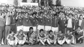 Dynamo Berlin's championship winning side in 1979
