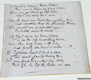 Burns song draft