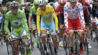 Tour de France competitors