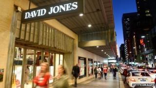 David Jones store