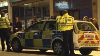 Police in Nottingham
