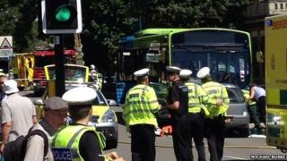 Accident in St Ives