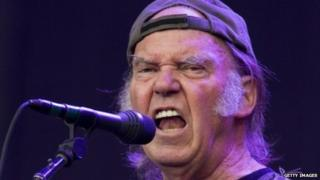 Neil Young at Hyde Park 2014