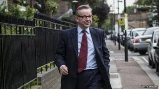 Michael Gove move not a demotion, says David Cameron