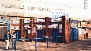 Leppings Lane turnstiles