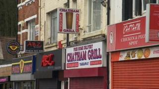 Fast food outlets in Chatham