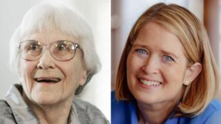 Harper Lee, pictured in 2007, and Marja Mills