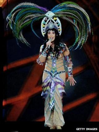 Cher, on her Dressed 2 Kill tour