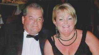 Bob Kemp and Jenny Newland