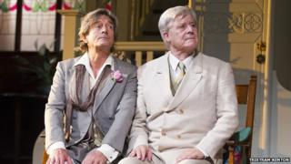 Nigel Havers and Martin Jarvis in The Importance of Being Earnest