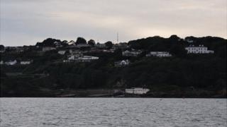 Fort George estate on Guernsey's east coast