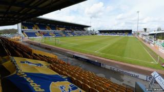 Mansfield Town's One Call Stadium