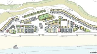 Artist impression of the plans