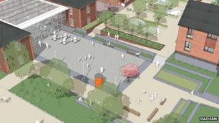 Plans for Quebec Barracks