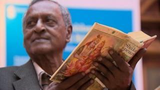 Sonny Venkatrathnam, owner of the Robben Island Bible