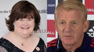 Susan Boyle and Gordon Strachan will be among the baton bearers in Glasgow