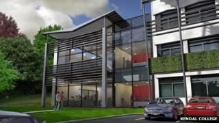 Artist's impression of new engineering centre