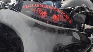 Hell's Angels bike