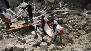 Gaza shelling by Israel leads to deadliest day of conflict