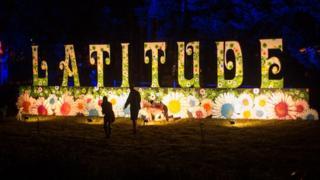 Latitude Festival sign