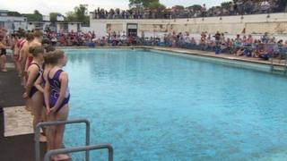 Hilsea Lido reopening