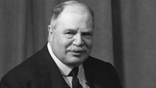 Edward George Villiers Stanley, Earl of Derby, in 1931